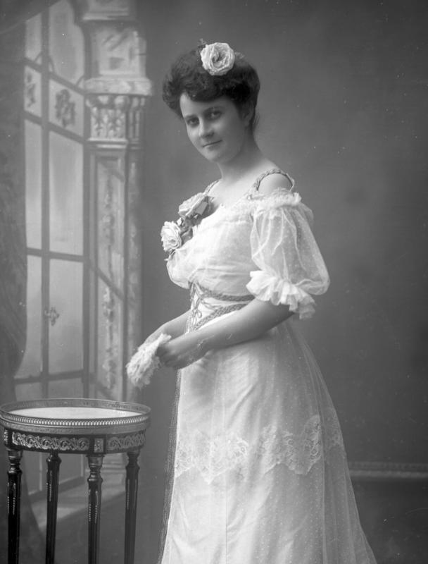 Portrett kvinne