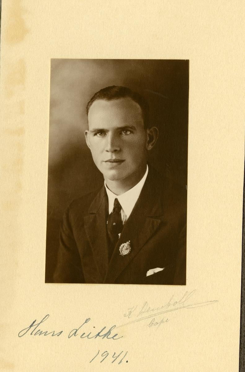 Portrett av Hans Leite.