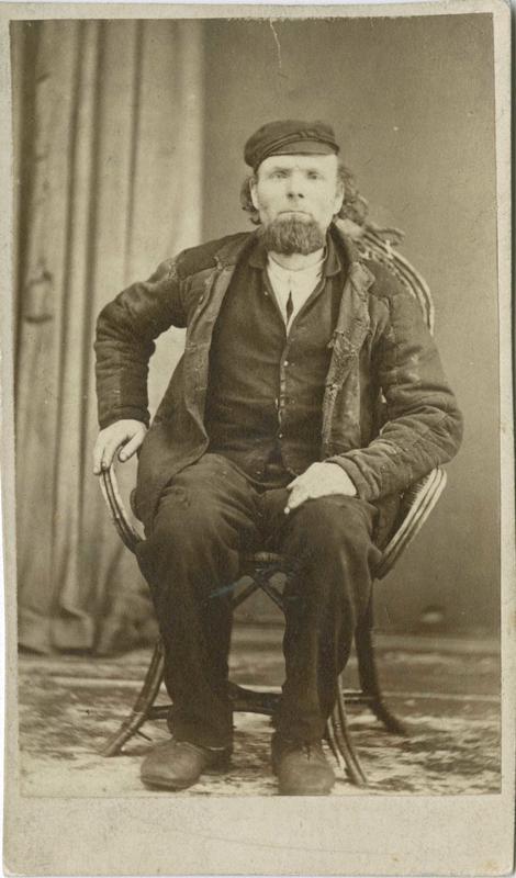 Johan Johannesen, Skotselv, arrestert i 1872, innsatt i distriktsfengslet i Hokksund for konkubinat (samboerskap).