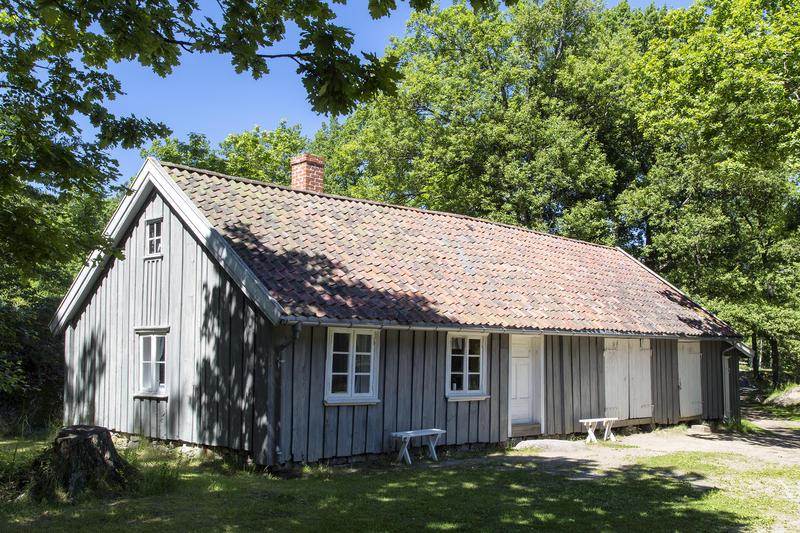 Bryggerhuset fra Skjellerud. Gjenoppført på Follo museum i 1994. (Foto/Photo)