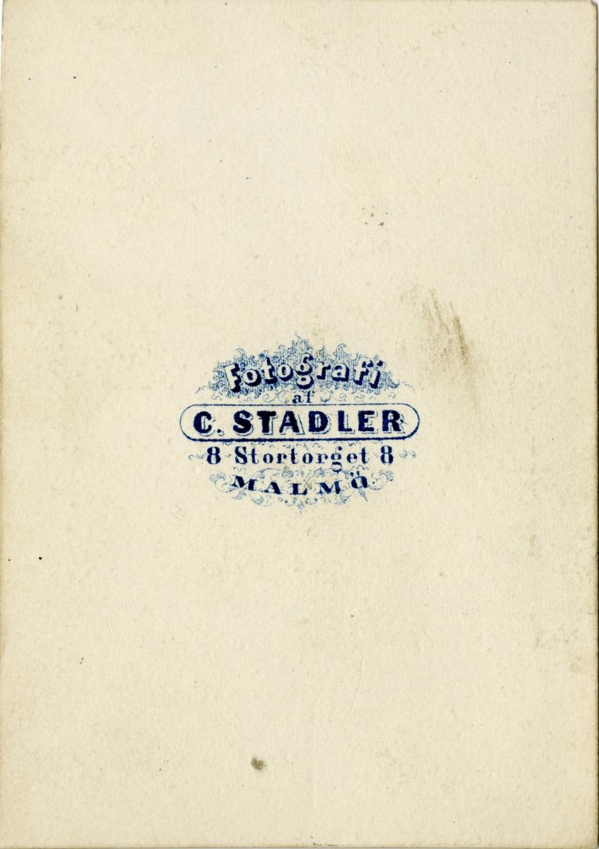 Fotograf enligt Bernhard Johanssons register.