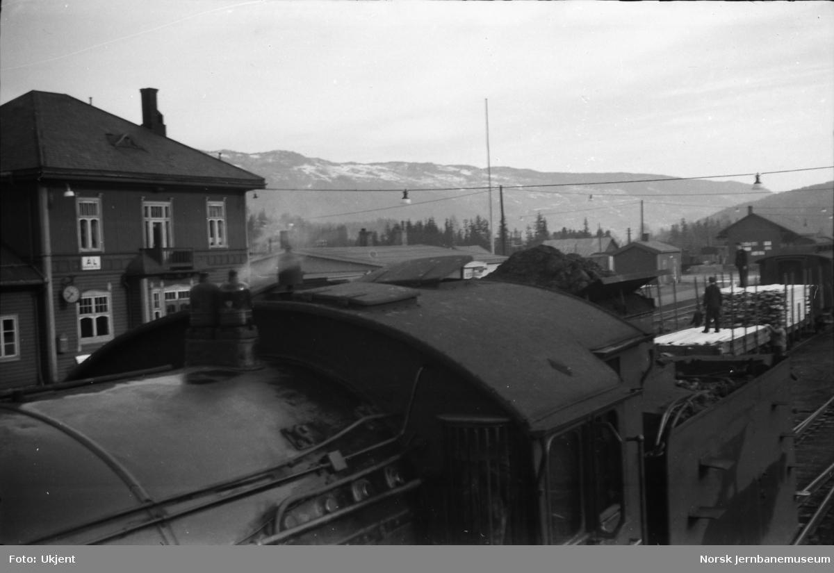 Damplokomotiv type 39a nr. 168 - førerhus og tender