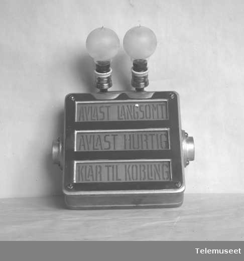 "Signalanlegg ""Trysse"". 5.8.16. Elektrisk Bureau."