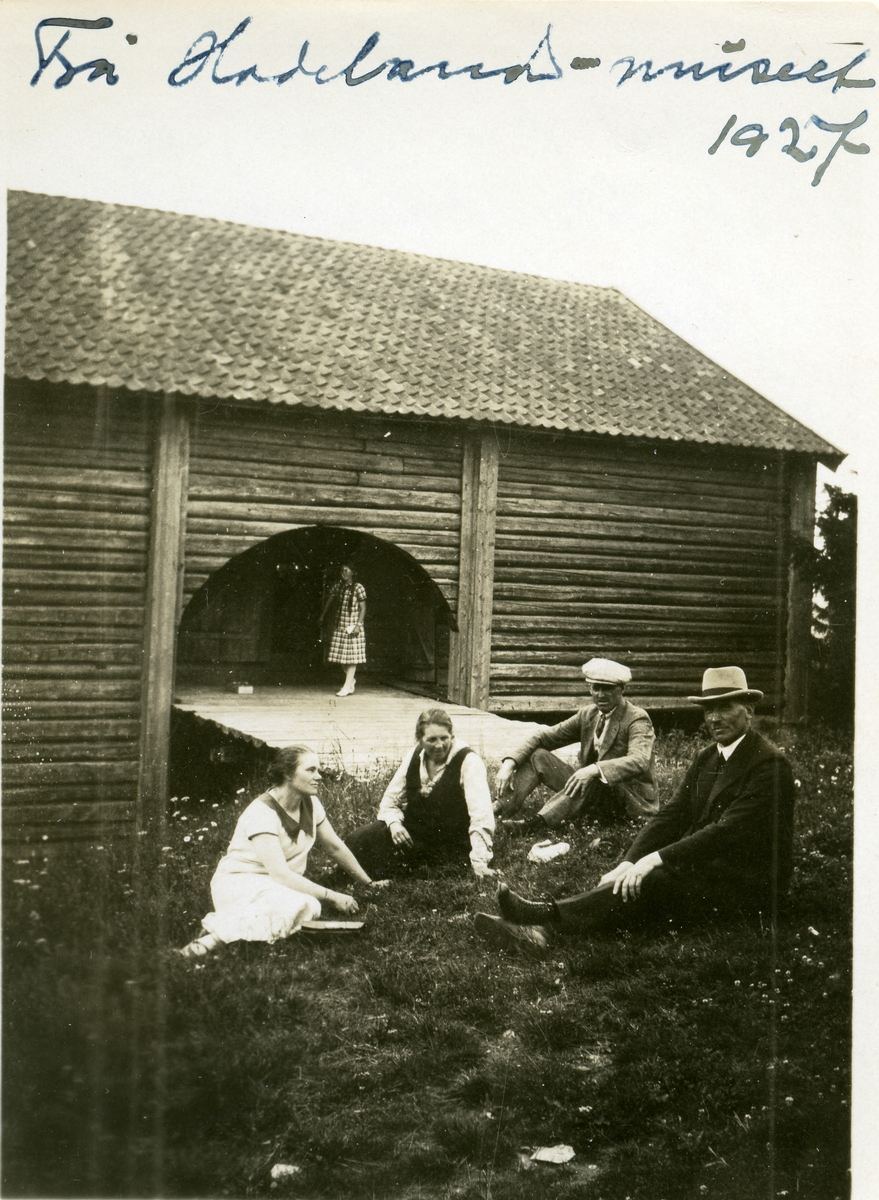 Hadeland Folkemuseum, 1927.