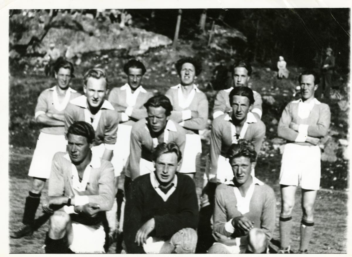 Hedalen fotballag i 1950.