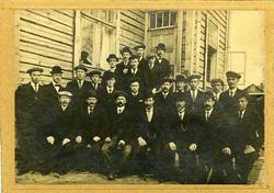 Kotka, Finland, 1913 Ansatte hos Gutzeit i Finnland Sagbru