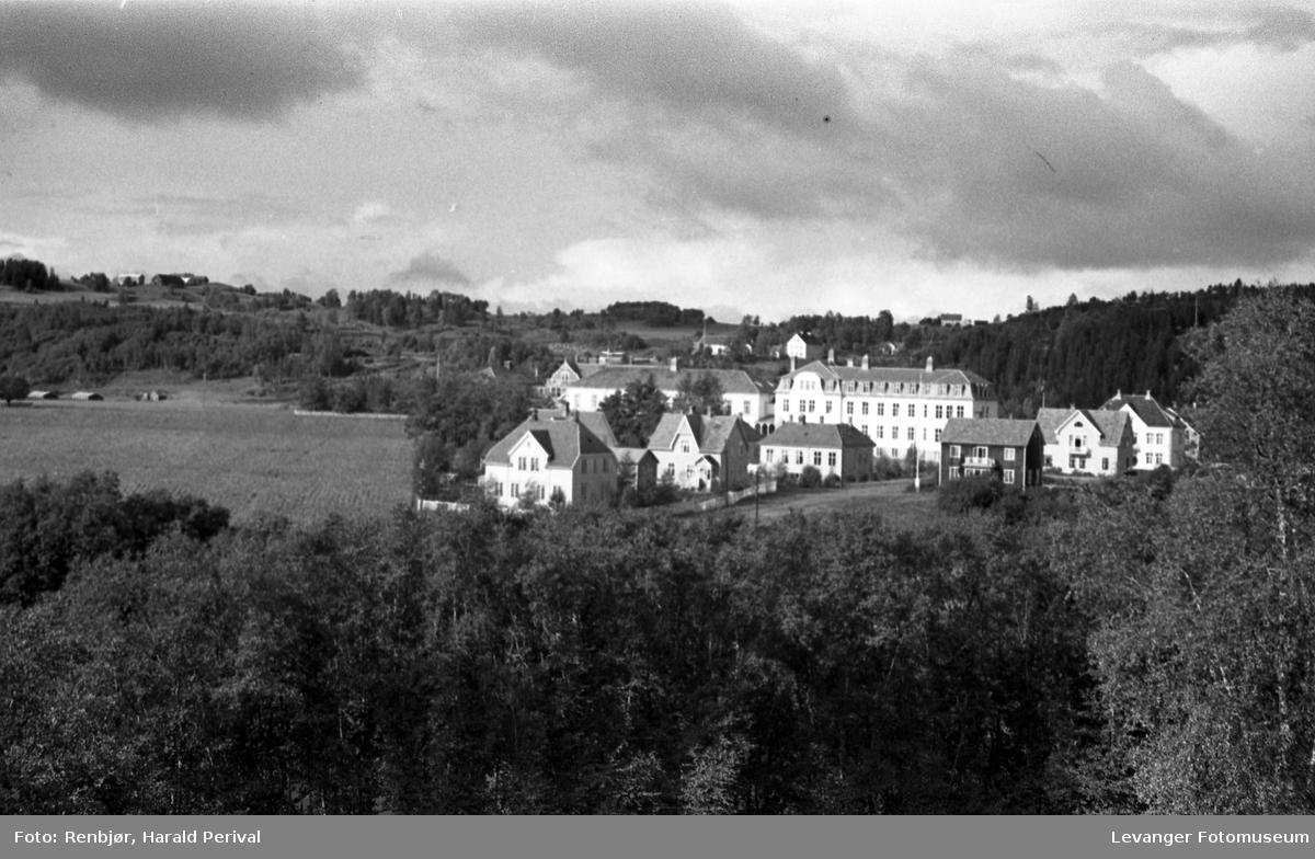 Sykehuset fra Lillemarksbakkene.