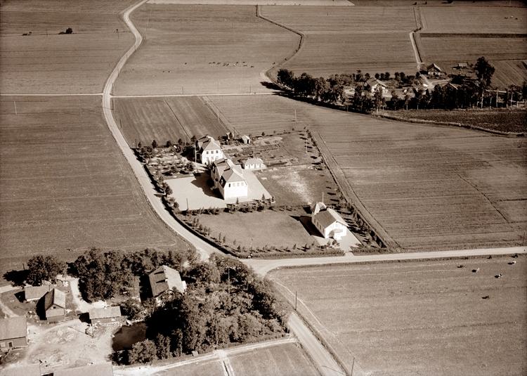 Bildtext: Gösslunda socken. Gösslunda skola 1947.