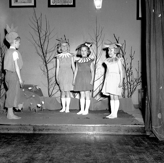Skara. SGU-fest 8/4 1951.SGU=Sveriges godtemlareungdom