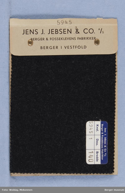 Prøvehefte med 2 prøver Frakk Kvalitet 5945 Melert