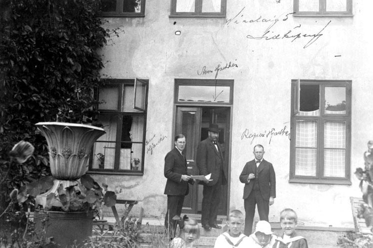 Hjorthénska Hemmet Nicolaigatan 5, Lidköping 2 juli1923.