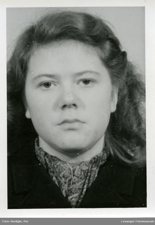 Karin Dillner Olsson, medlem av Rinnanbanden, fotografi tatt i forbindelse med rettsaken.