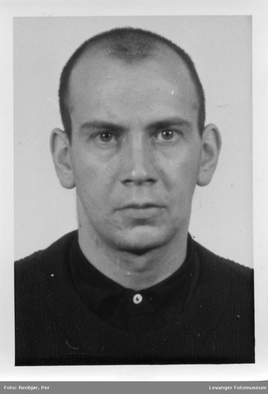 Kåre Martinsen medlem av Rinnanbanden, fotografi tatt i forbindelse med rettsaken.