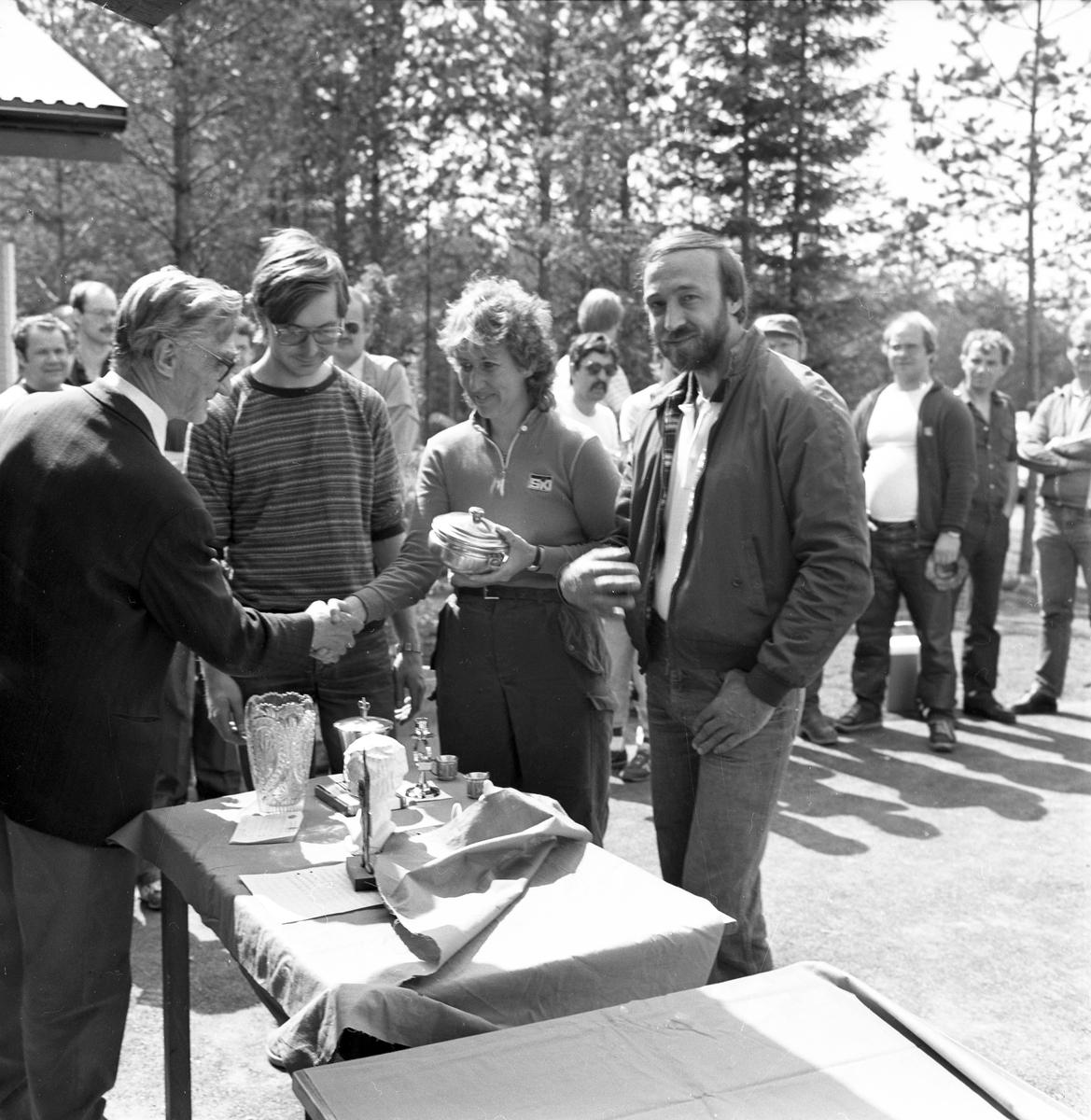 Korpskytte vid Älgsjön. Juni 1984.