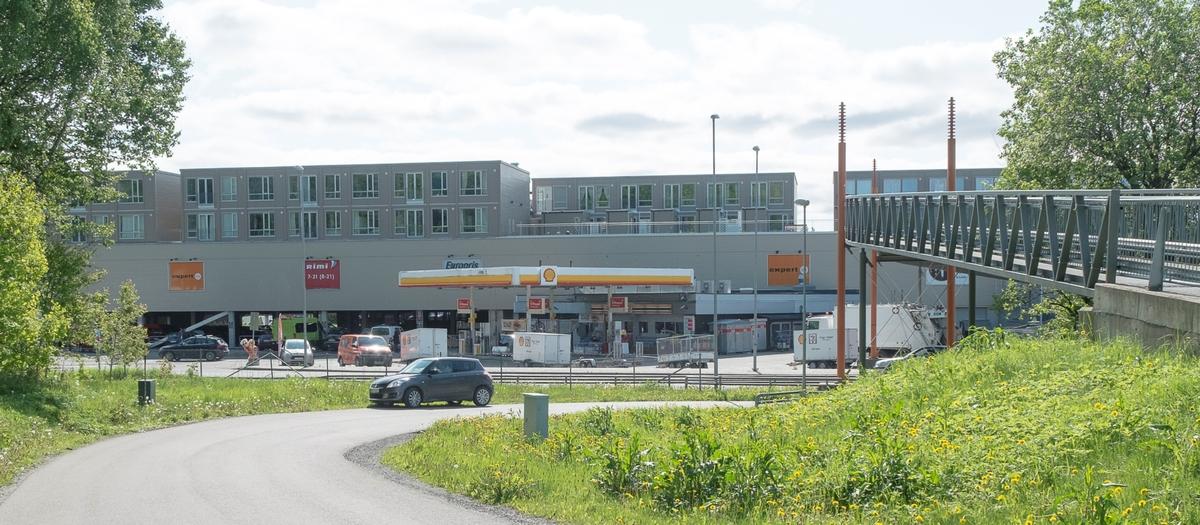 Shell bensinstasjon Osloveien Drøbak Frogn
