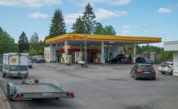 Shell bensinstasjon Osloveien Hølen Vestby