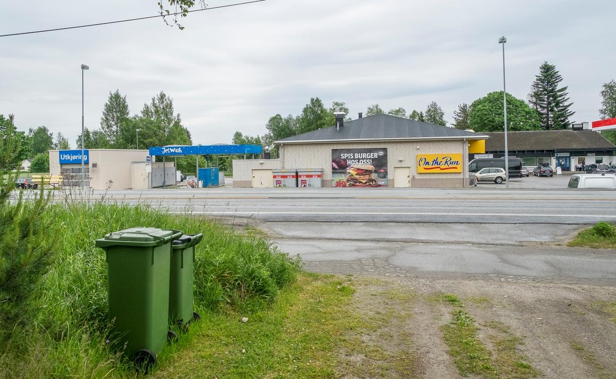 Esso bensinstasjon Trondheimsveien Råholt Eidsvoll