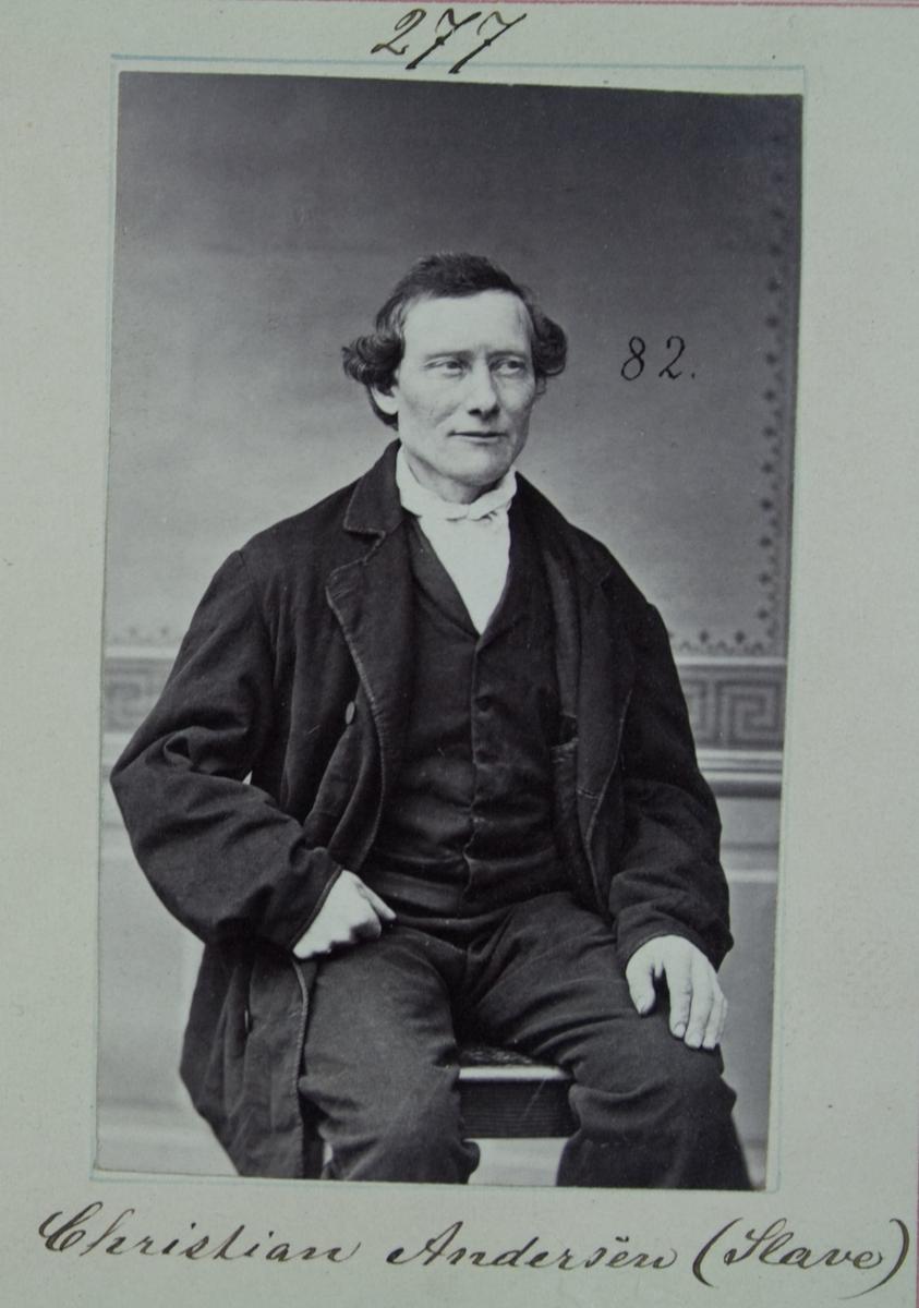 Fangeportrett, Christian Andersen