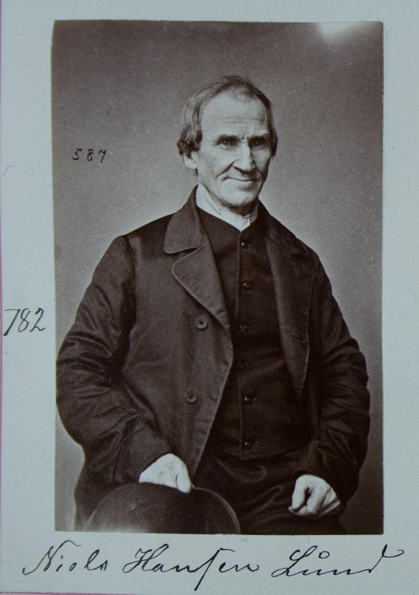 Fangeportrett, Niels Hansen Lund