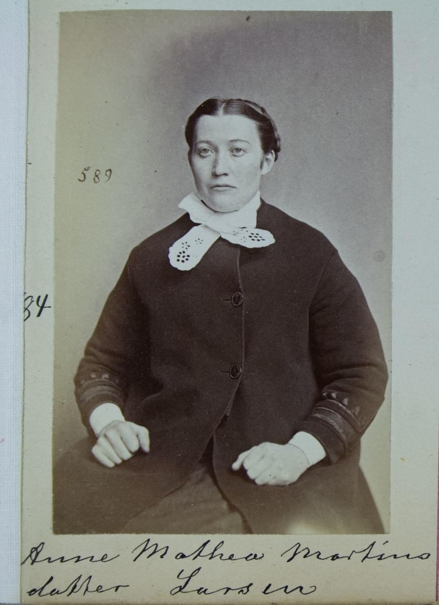 Fangeportrett, Anne Mathea Martinsdatter Larsen