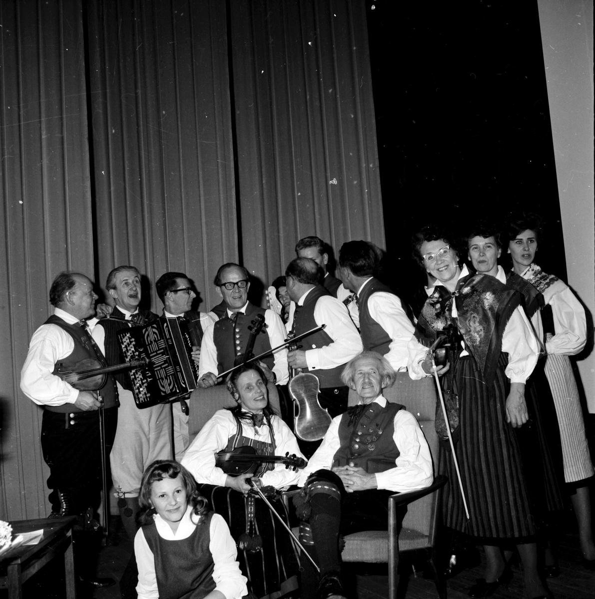 Öst-galan, Folkets hus, 20 December 1962