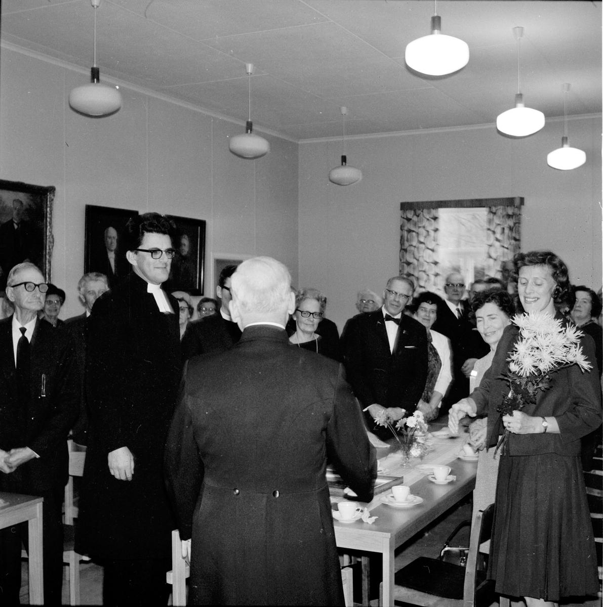 Arbrå, Olle Larsson tar farväl, Arbrå-Undersvik, 3 December 1967