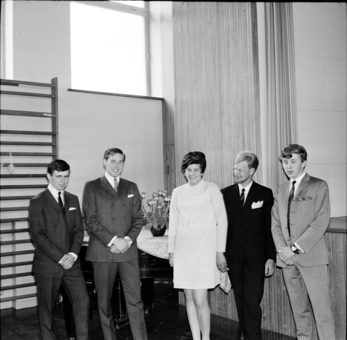 Arbrå, Kamratfest på Nytorp, 20 April 1968