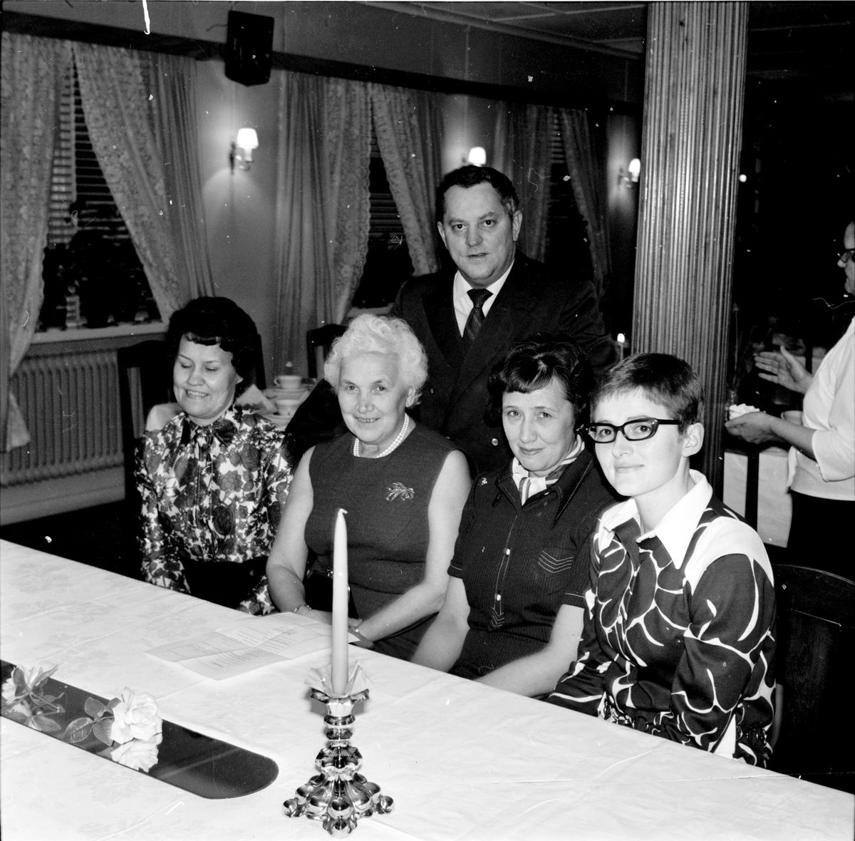 Arbrå, Socialkurs-avslutning på Vilan, Mars 1970