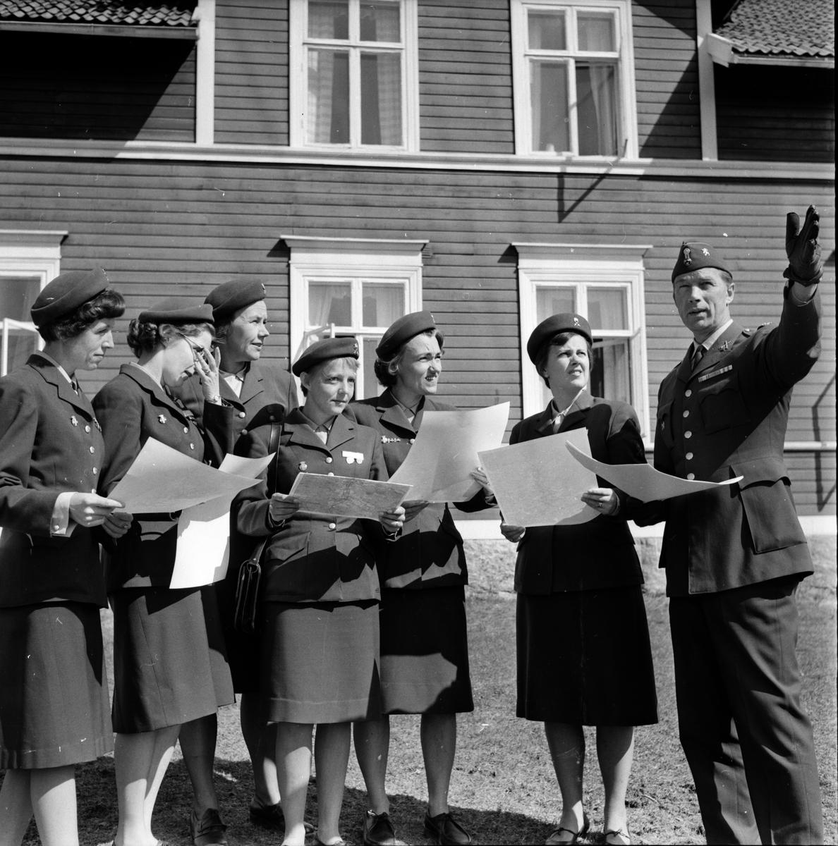Stagården, Lottakurs, 10 Maj 1966