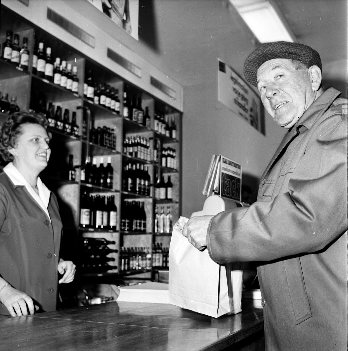 Systemet, Registreringen i Bollnäsbutiken, 2 Mars 1967