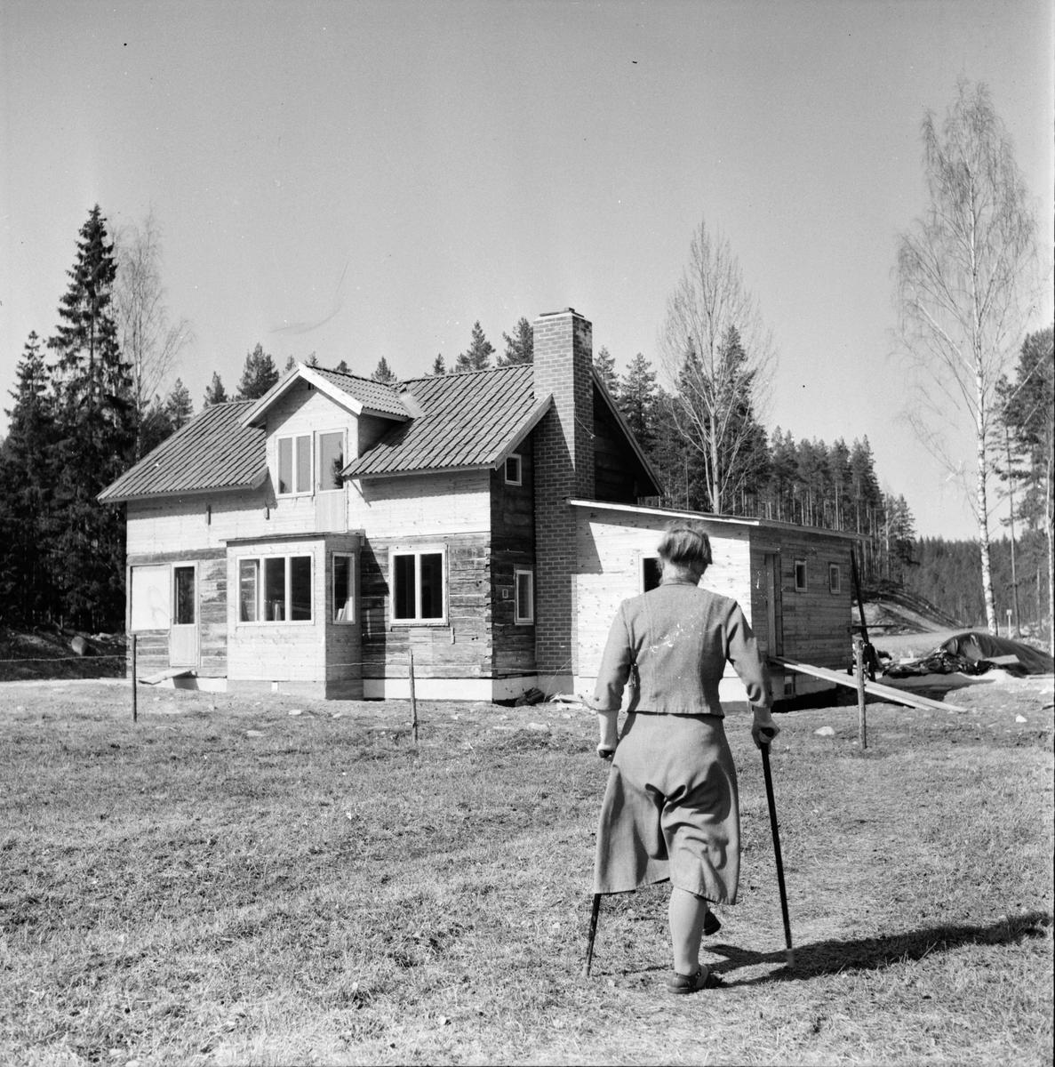 Rygge. Makarna Matilda och Per Blom Enar Jacobson. 6/5-1965