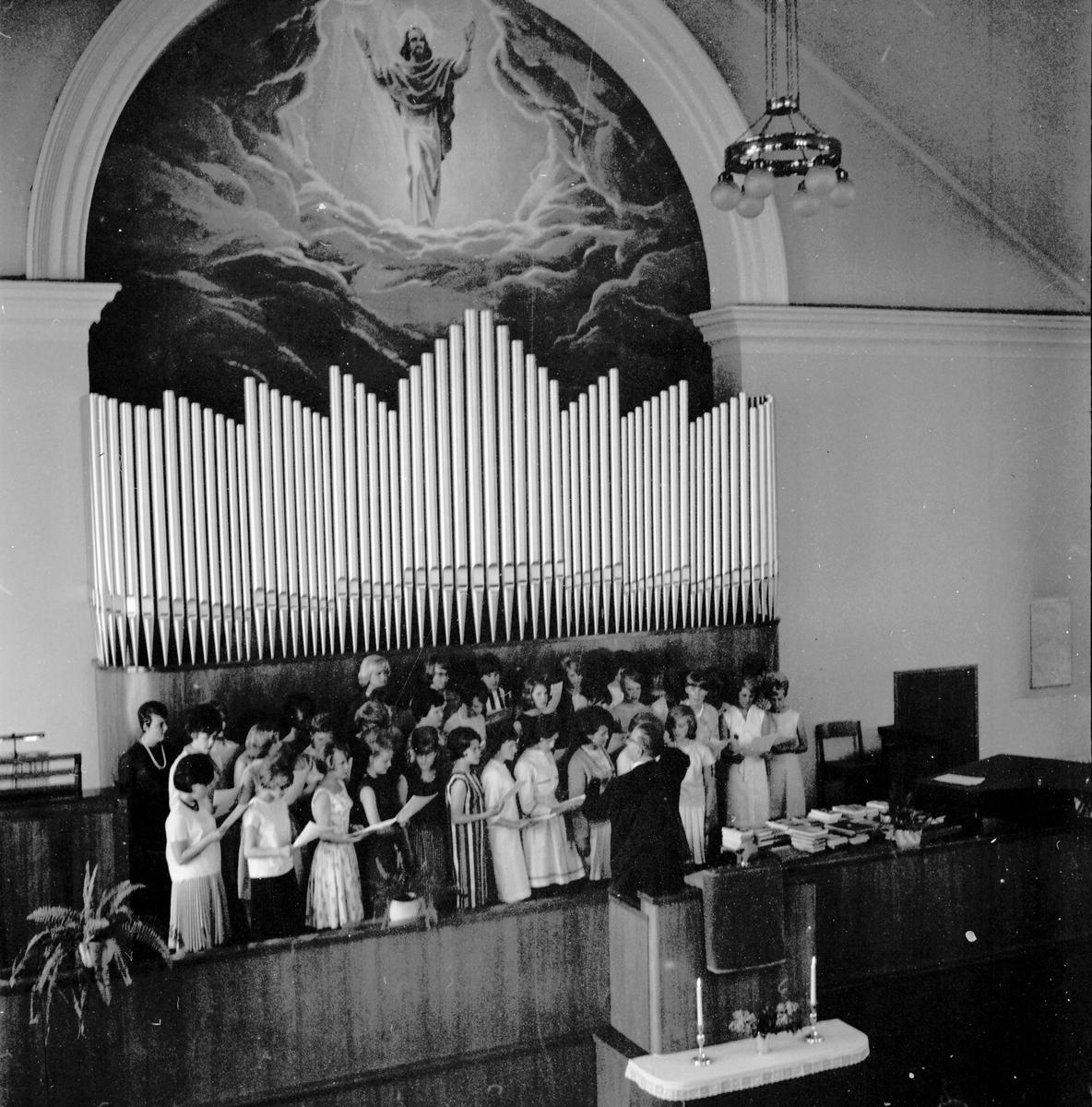 Skolavslutning i Bollnäs. 9/6-1964