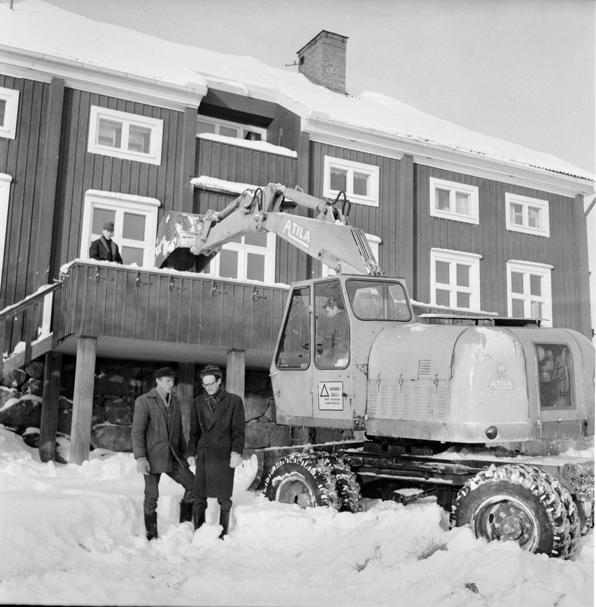 Undersvik, Stiftsgården, 29 Jan 1968