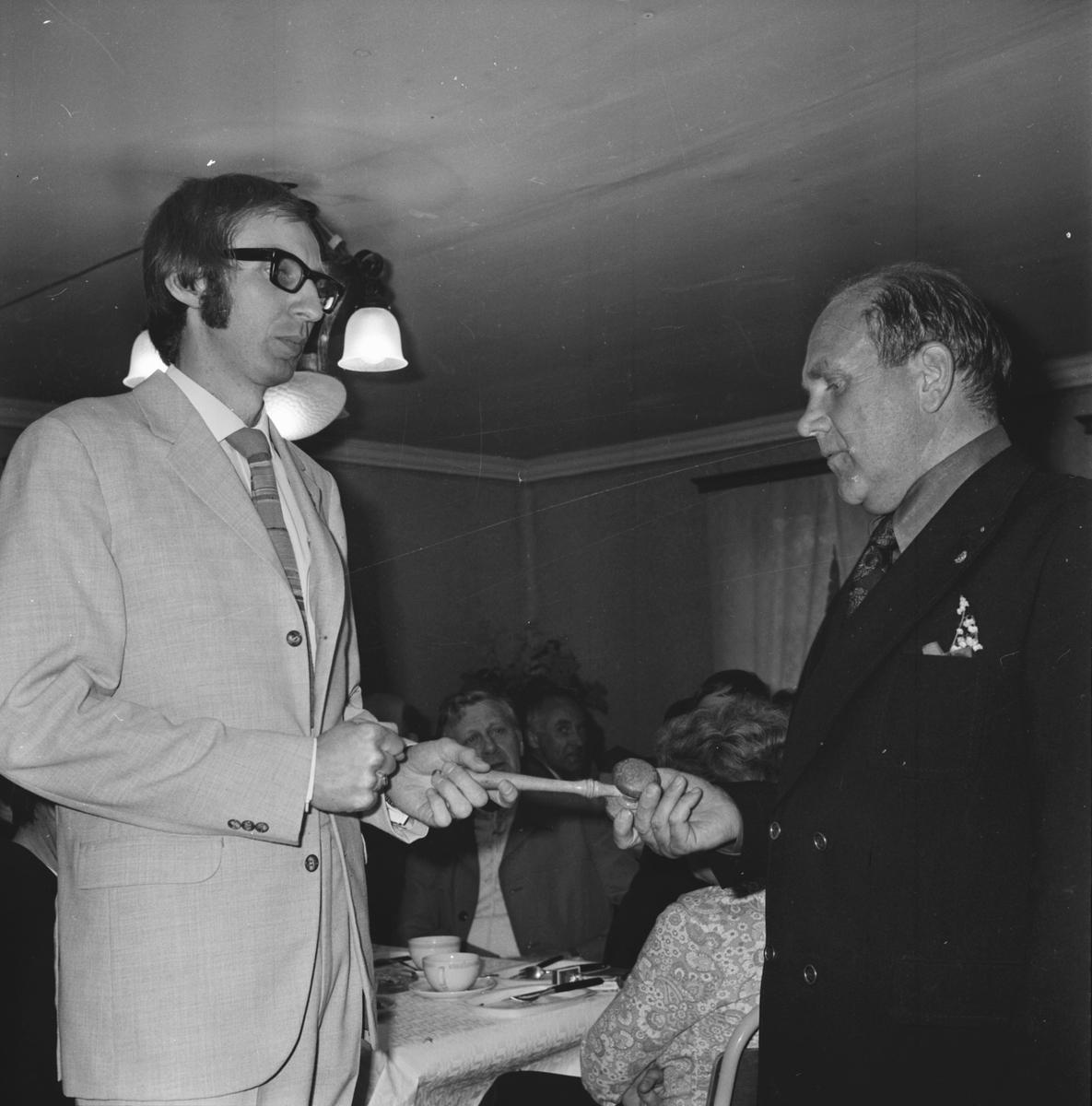 Arbrå Lion, Presidentbyte 1972