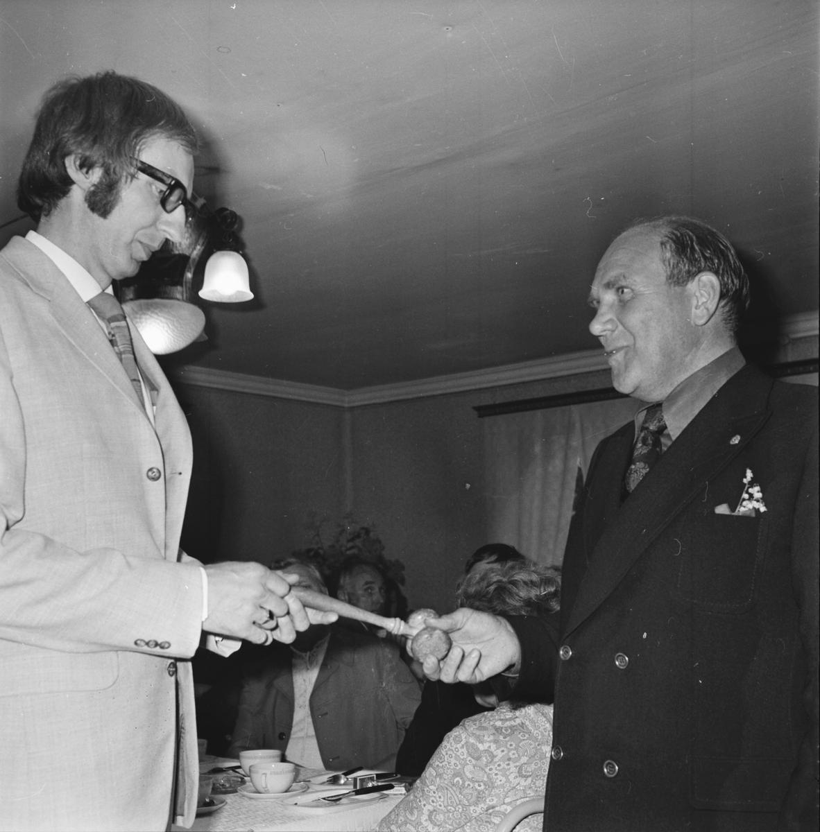 Arbrå Lion, Presidentvalet juli 1972