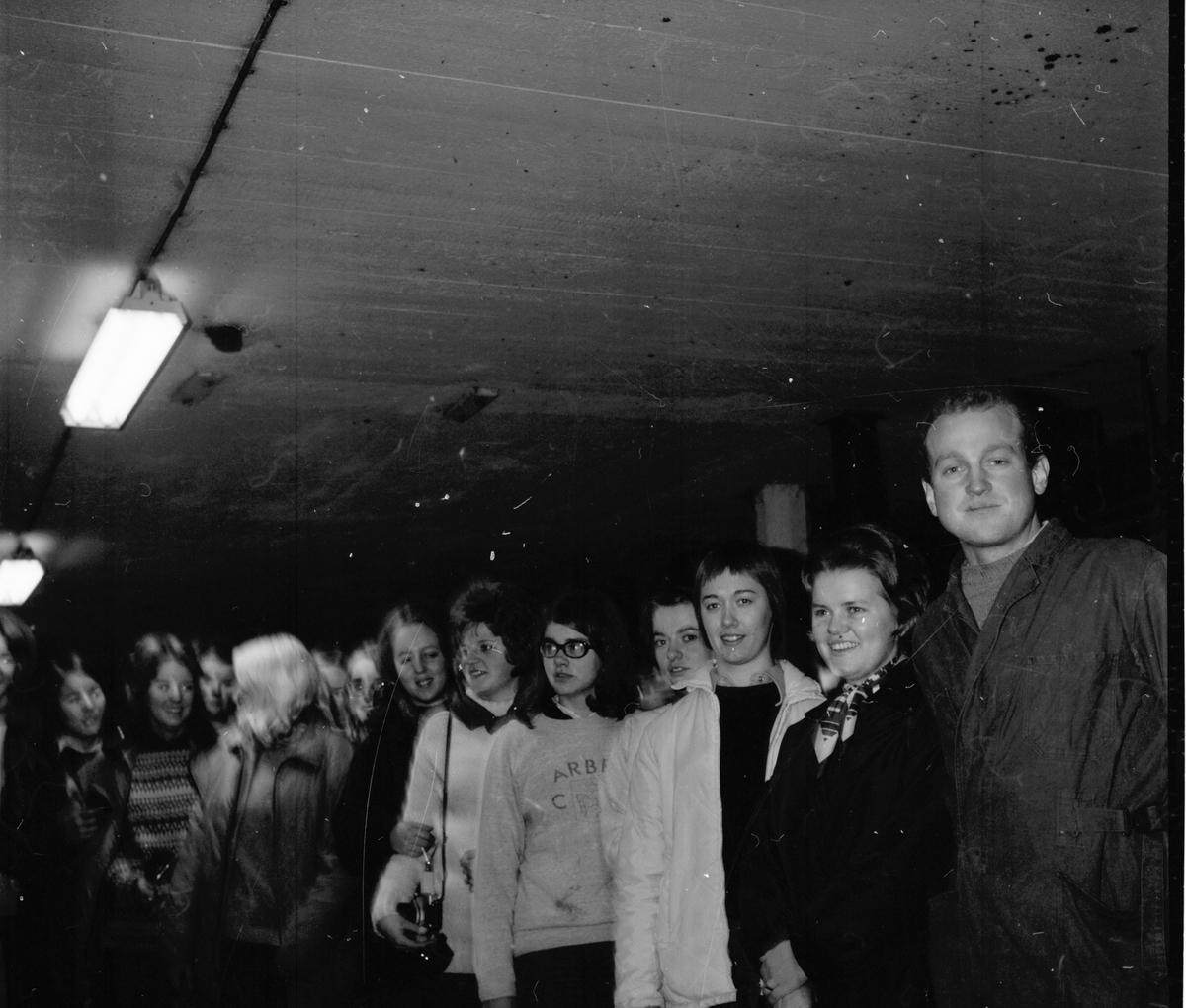 Nytorp, Besök av helsingegårdselever, Nov 1970
