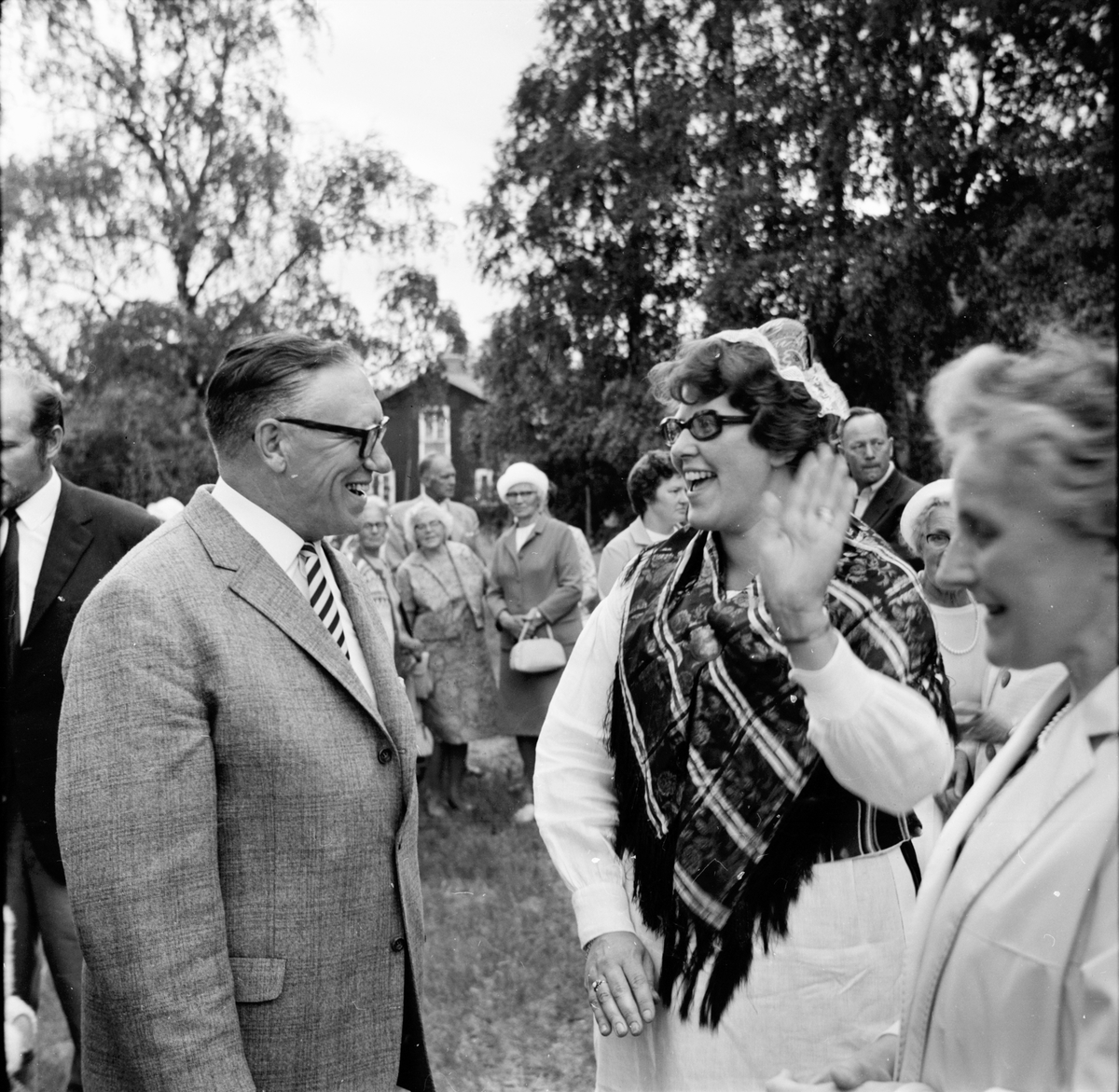 Bogården, Kyrkdag, John i Bäckmora, Juli 1970