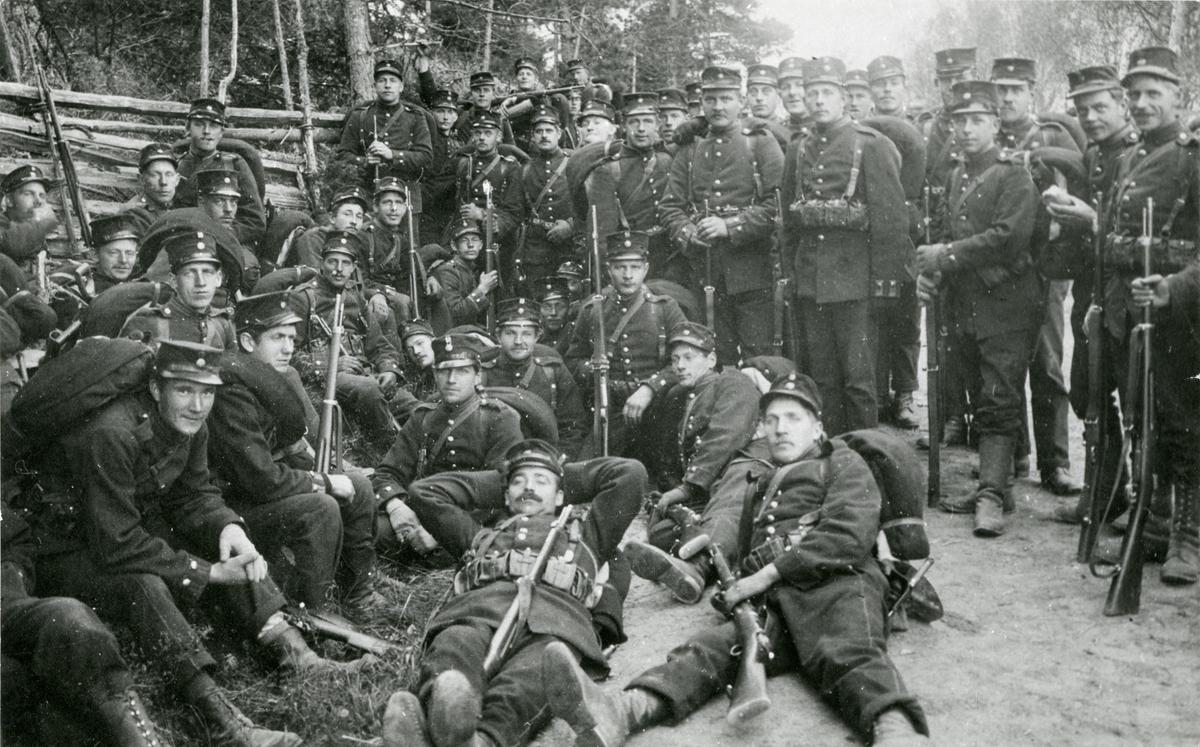 Beväringar från Södermanlands regemente I 10.