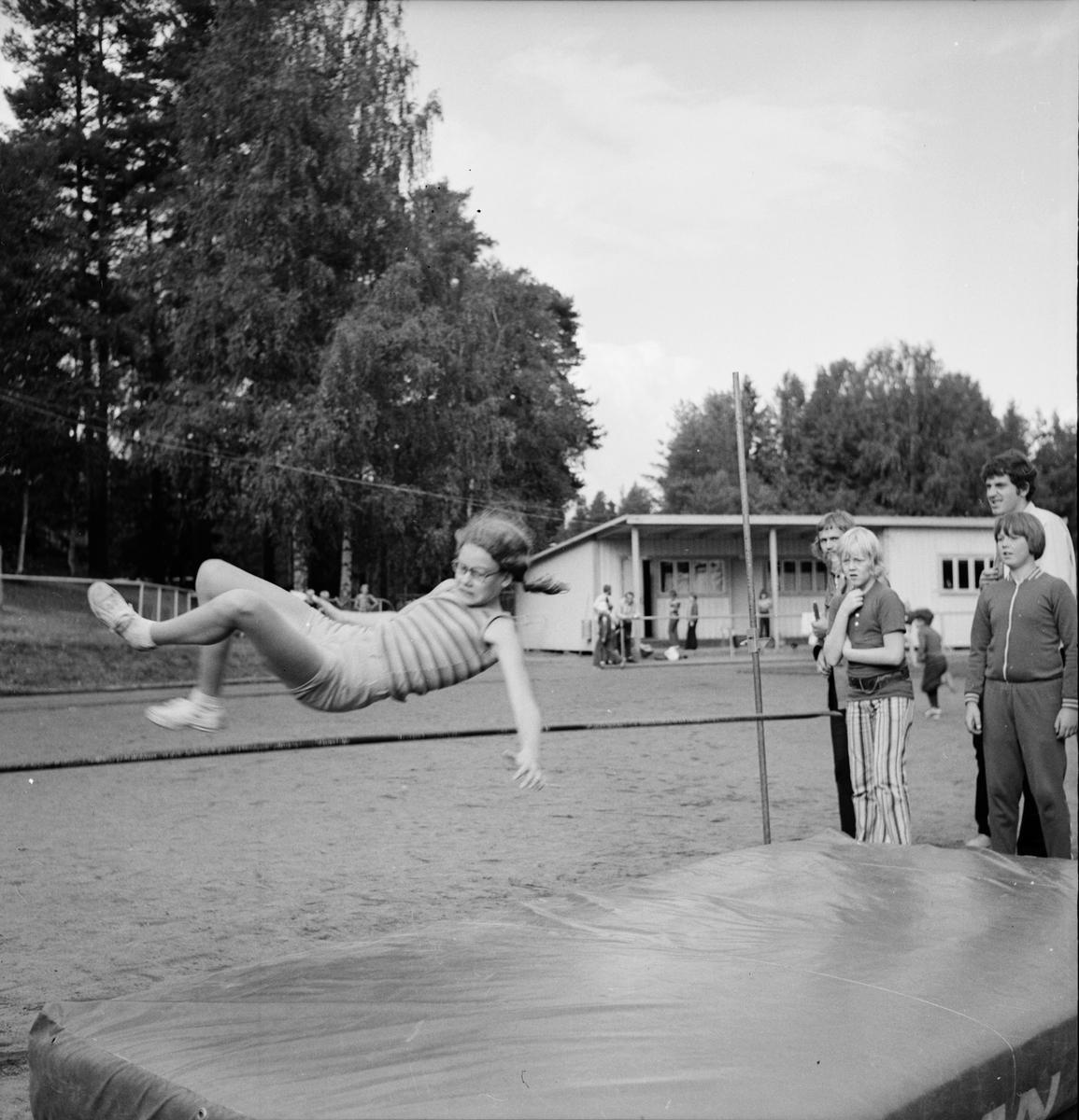 Skoltävlingar, Vallstaskolan September 1972