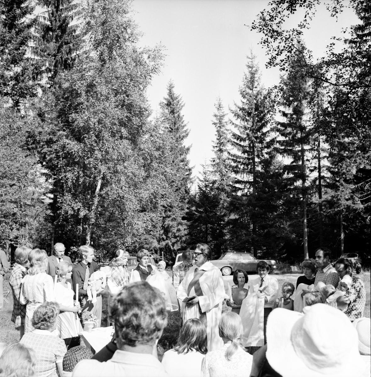 Dopcermoni på Möckelåsen. Juli 1972