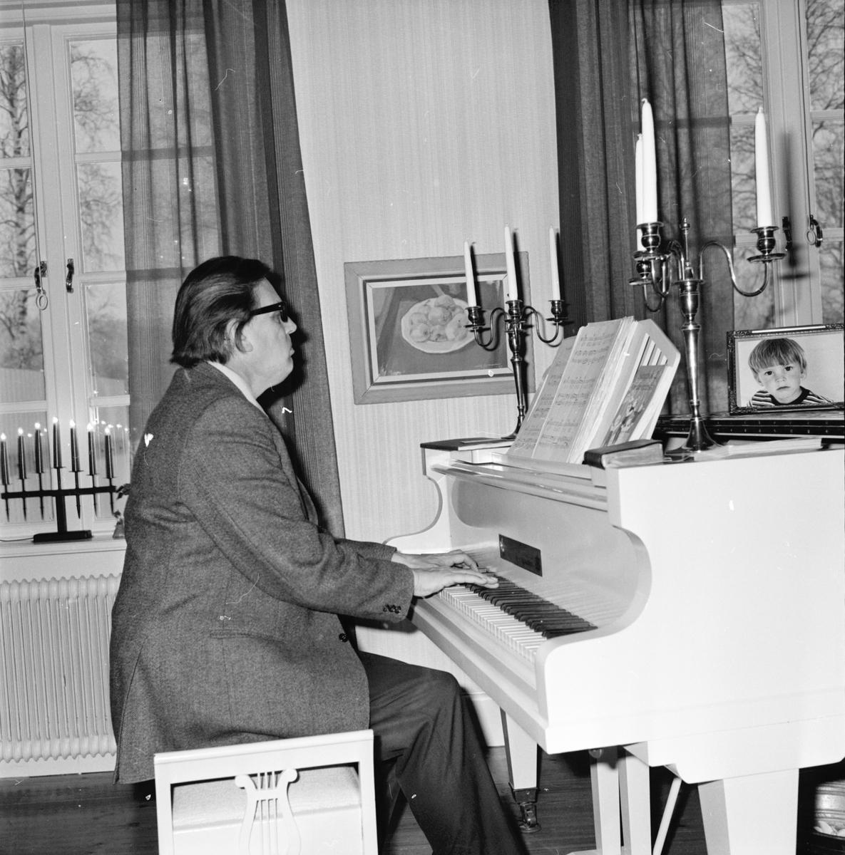 Arbrå, Syföreningsdag prästgården, Febr 1972