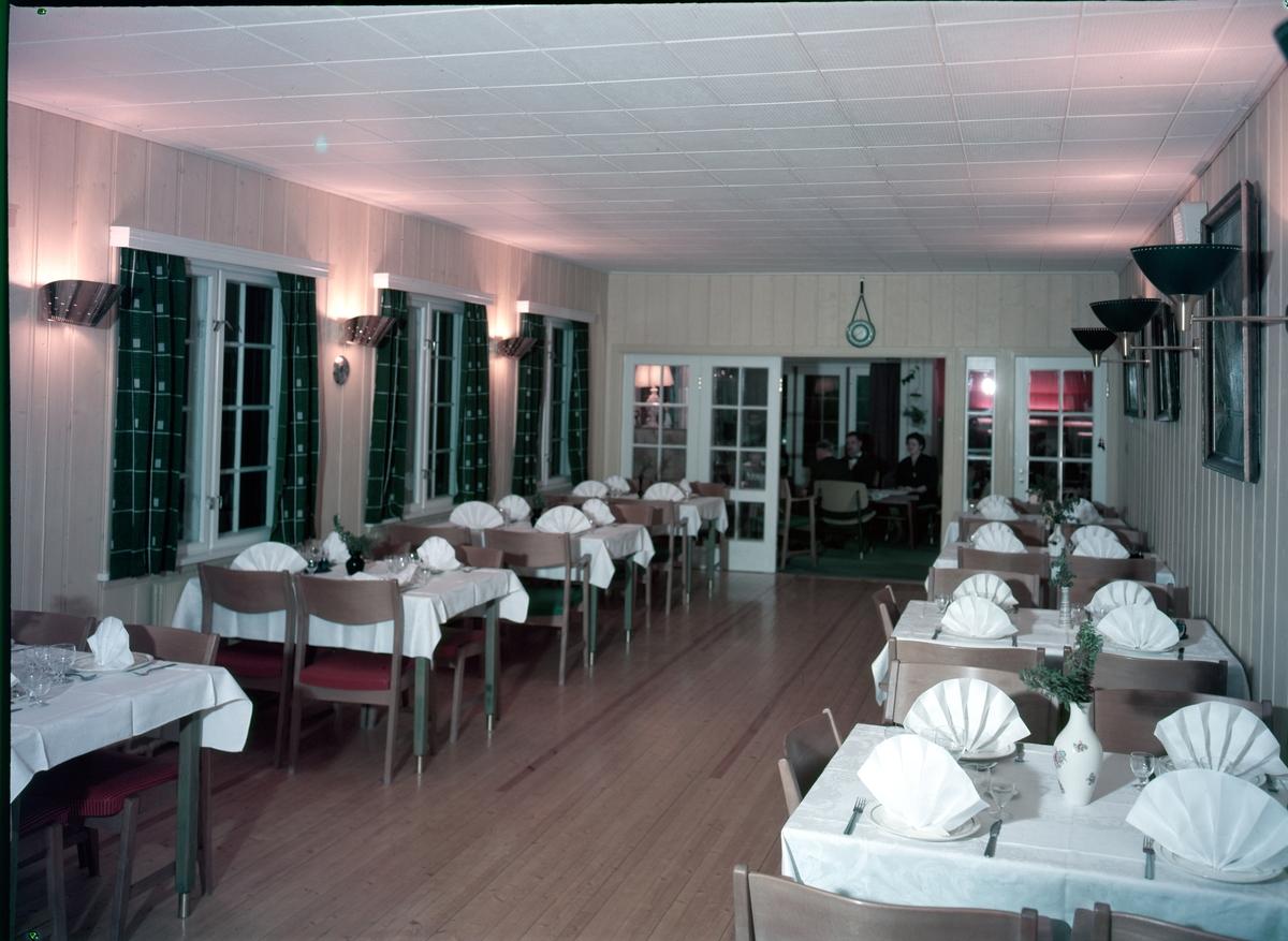 Spisesalen på Fjellstølen.