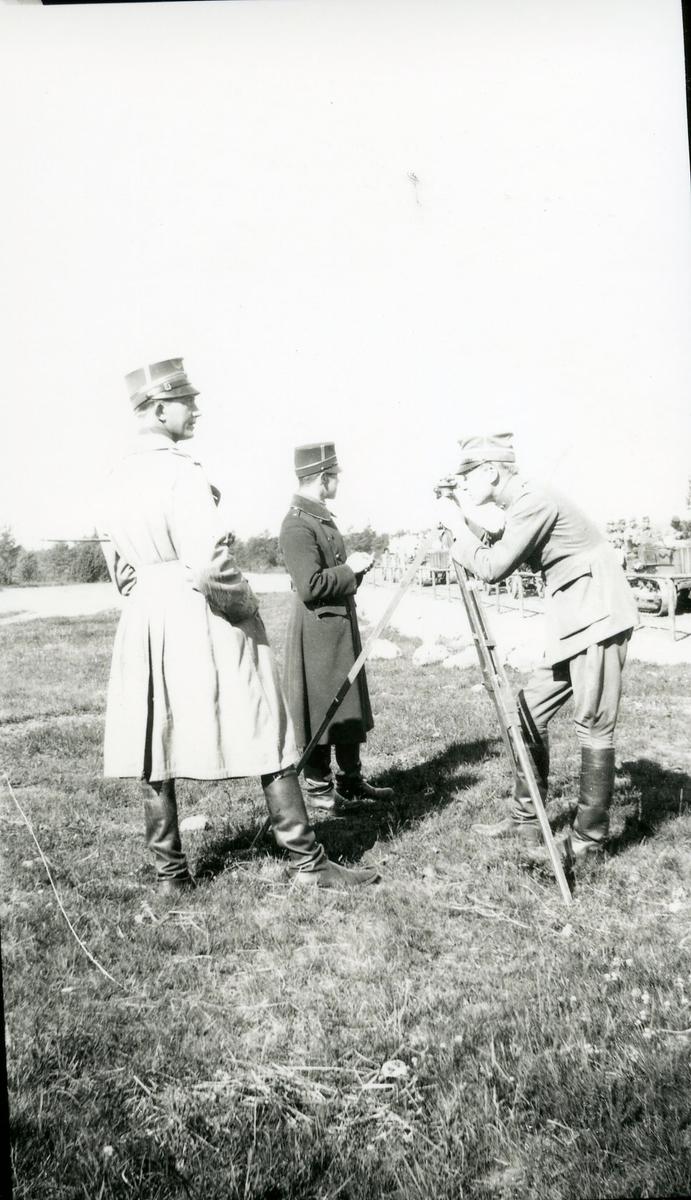 Artilleriets Skjutskola, Skillingaryd, 1928