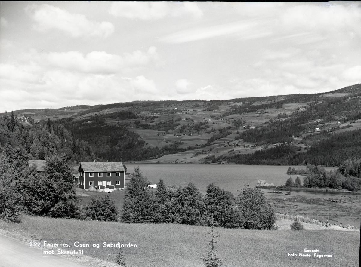Sebufjorden og Osen, Nord-Aurdal.