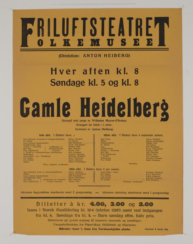 Teaterplakat 34668-065 (Foto/Photo)