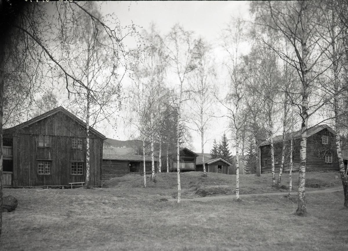 Byginger ved Valdres Folkemuseum.