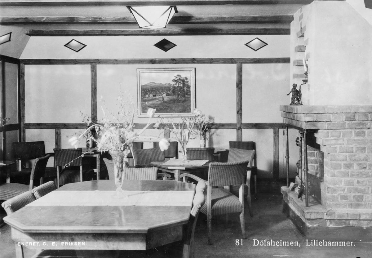 Interiør. Hotell Dølaheimen i Lillehammer.