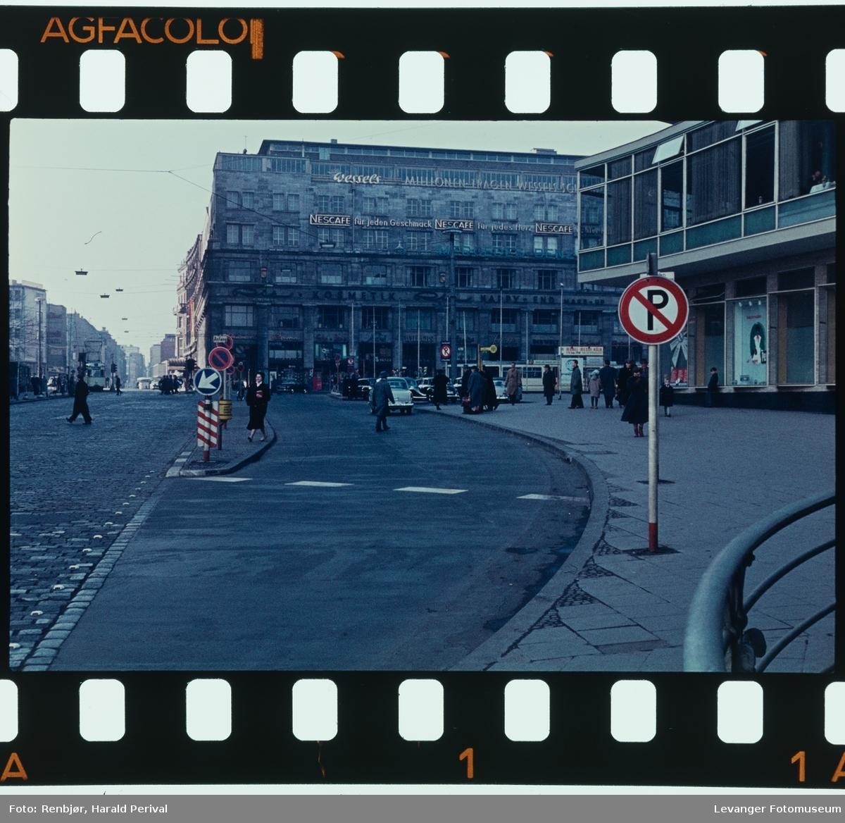 Gatebilder fre Køln.