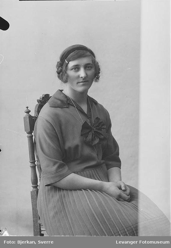 Portrett av Ida Varvik.
