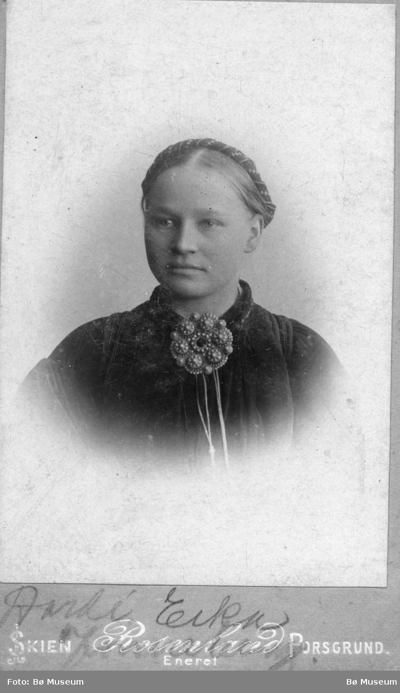Portrett av Dordi Eika Jønneberg